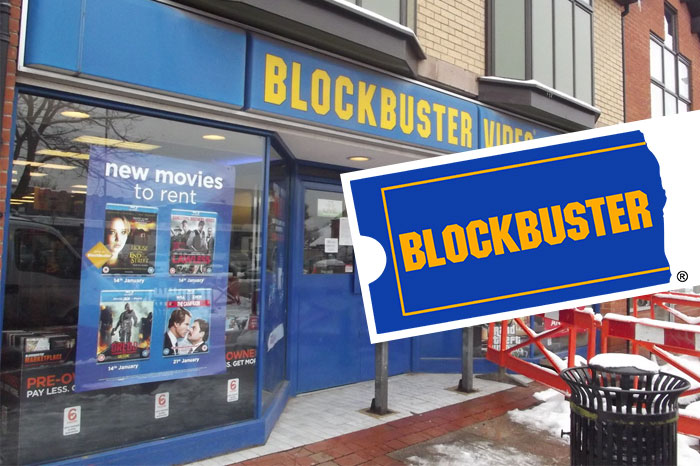 History of Blockbuster